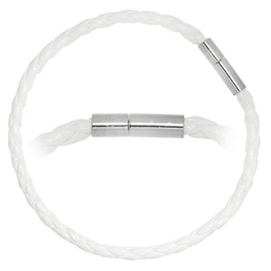 Bead-armband PVC Staal
