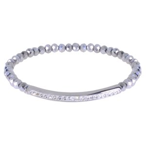 Kinder Armband Staal Kristal