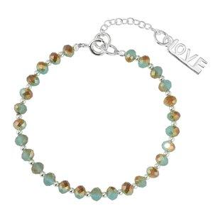 Bracelet enfants Argent 925 Cristal Love Amour