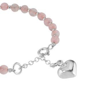 Bracelet enfants Argent 925 Cristal Coeur C?ur Amour