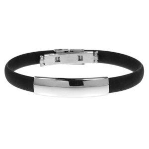 Armband PVC Edelstahl