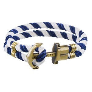 PAUL HEWITT Beach bracelet Brass nylon Anchor