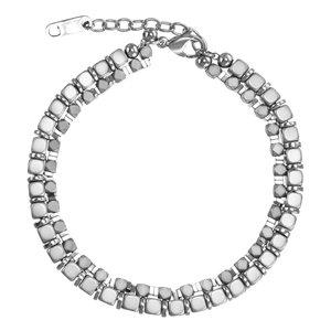 Bracelet Acier inoxydable Hématite