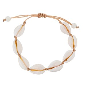 Bracelet Sea shell nylon Plastic