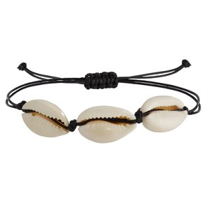 Bracelet Sea shell nylon