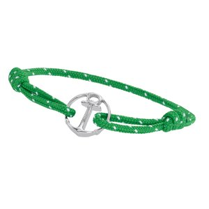 PAUL HEWITT Strand-armband Staal Gerecycled Polyester Anker touw schip