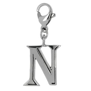 Charms pendants Stainless Steel Letter Character Number