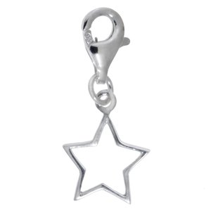 Charm niños Plata 925 Estrella
