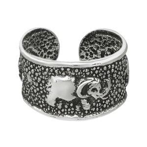 Ohrclip Silber 925 Ganesha Elefant