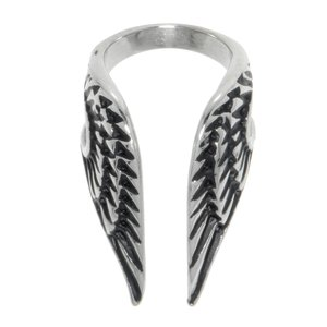 Ear clip Stainless Steel Wings