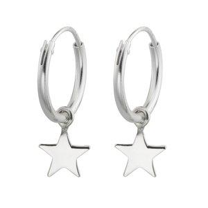Creolen Silber 925 Stern