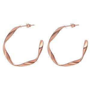 Ohrringe Edelstahl PVD Beschichtung (goldfarbig) Spirale