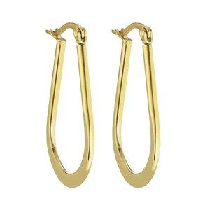 Orecchini Metallo chirurgico 316L Rivestimento PVD (colore oro)