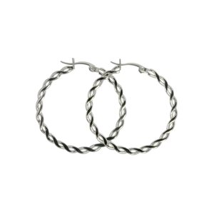 Hoops Surgical Steel 316L Tribal_pattern