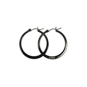 Hoops Surgical Steel 316L Black PVD-coating