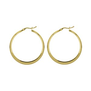 Hoops Surgical Steel 316L Gold-plated