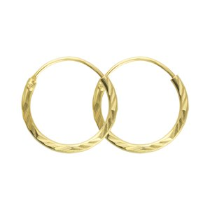 Hoops Gold-plated Silver 925