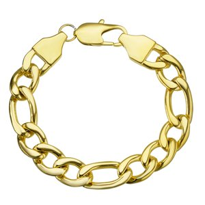 Bracelet Stainless Steel PVD-coating (gold color)