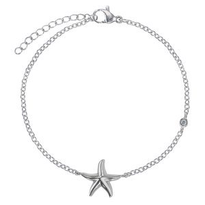 armband Staal Kristal Zeester