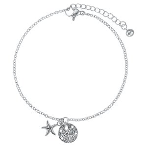 Bracelet Stainless Steel Starfish