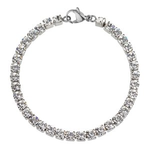 Bracelet Stainless Steel Crystal