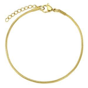 armband Staal PVD laag (goudkleurig)