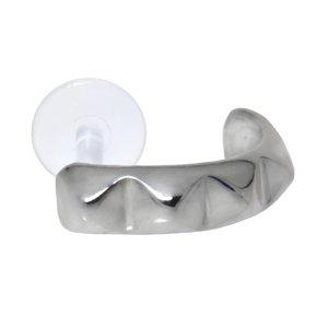 Ohrpiercing Silber 925 Bioplast