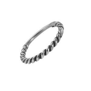 Piercing orecchio Metallo chirurgico 316L Spirale