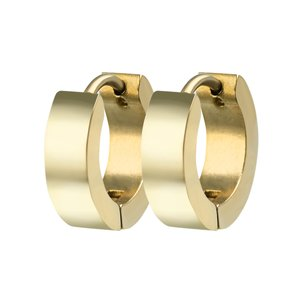 Hoops Stainless Steel PVD-coating (gold color)