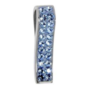 Colgante de acero inoxidable Acero fino cristales de Swarovski