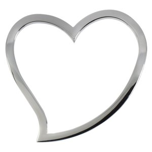 Stainless steel pendant Stainless Steel Heart Love