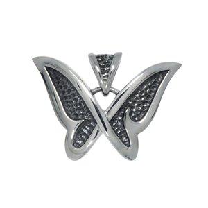 Colgante de acero inoxidable Acero fino Mariposa