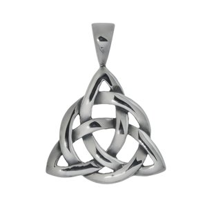 Stainless steel pendant Stainless Steel Tribal_pattern Eternal Loop Eternity