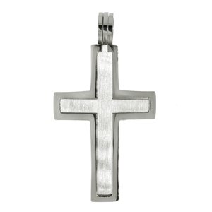 Stainless steel pendant Stainless Steel Cross