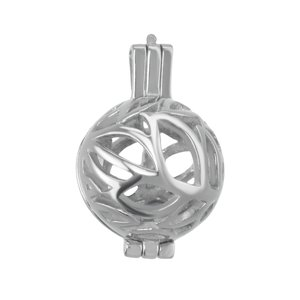 Stainless steel pendant Stainless Steel Leaf Plant_pattern Tribal_pattern