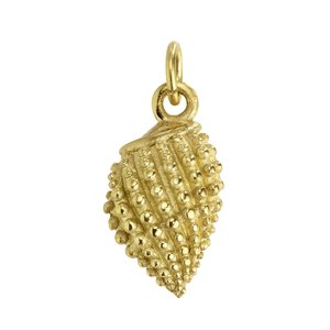 Stainless steel pendant Stainless Steel PVD-coating (gold color) Shell