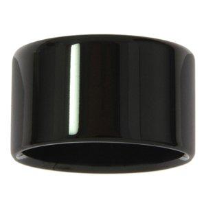 stalen ring Staal PVD laag (zwart)