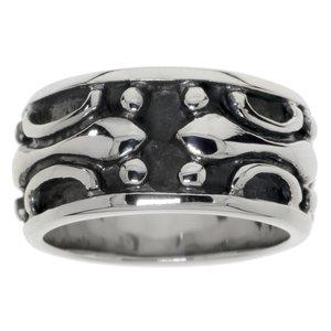 Fingerring Stainless Steel Tribal_pattern