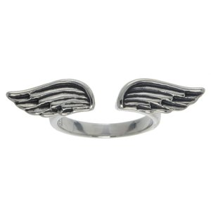 Fingerring Stainless Steel Wings