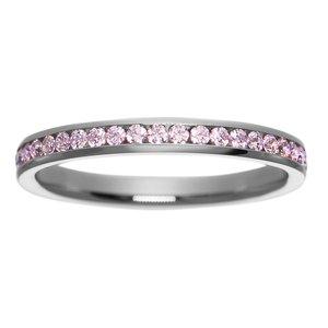 stalen ring Staal Swarovski kristal