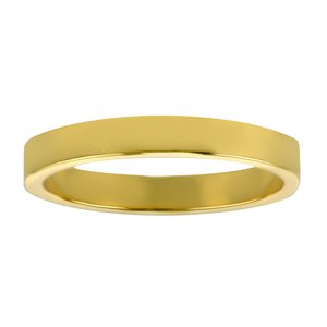 Stainless steel ring Stainless Steel PVD-coating (gold color)