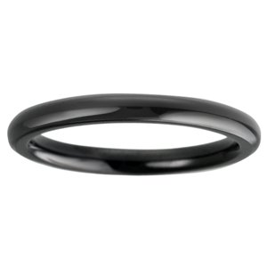 Stainless steel ring Stainless Steel Black PVD-coating