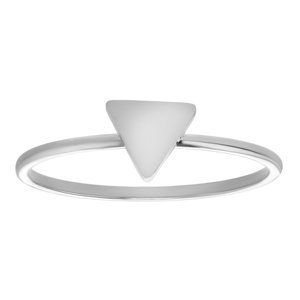 Fingerring Stainless Steel Triangle