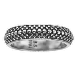 Fingerring Stainless Steel Black PVD-coating