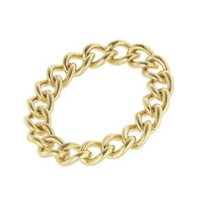 ring Staal PVD laag (goudkleurig)