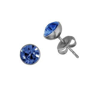 Earrings Stainless Steel Surgical Steel 316L Swarovski crystal