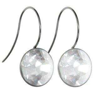Ohrhänger Edelstahl Swarovski Kristall