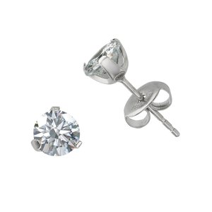 Earrings Stainless Steel Surgical Steel 316L zirconia