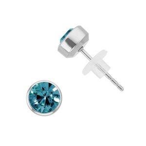 Earrings Stainless Steel Crystal PVC