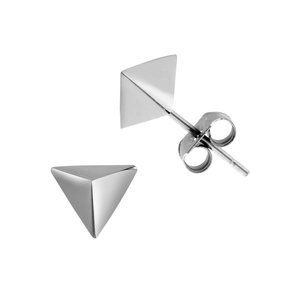Earrings Stainless Steel Triangle